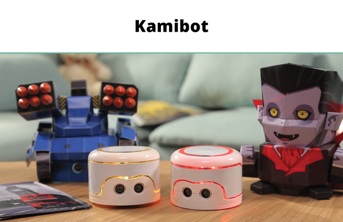 Kamibot, i bambini possono programmare i robot. Close-up Engineering