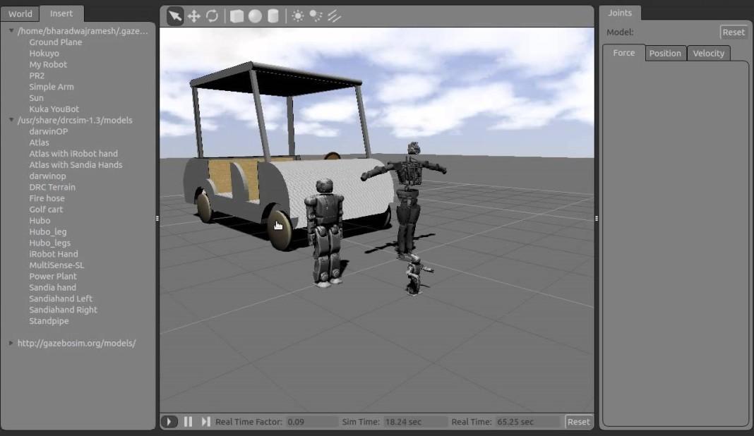 Progettazione con il simulatore Gazebo. Close-up Engineering