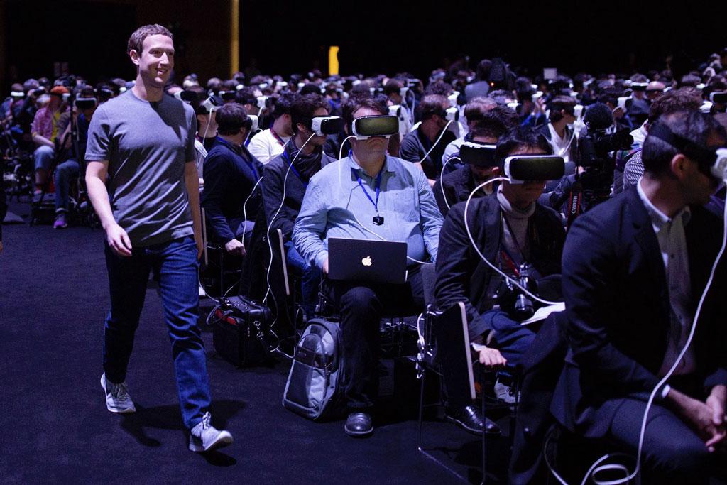 Zuckerberg, Realtà Virtuale e Samsung