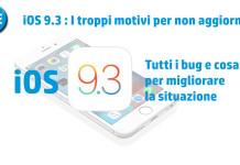 iOS 9.3 Bug