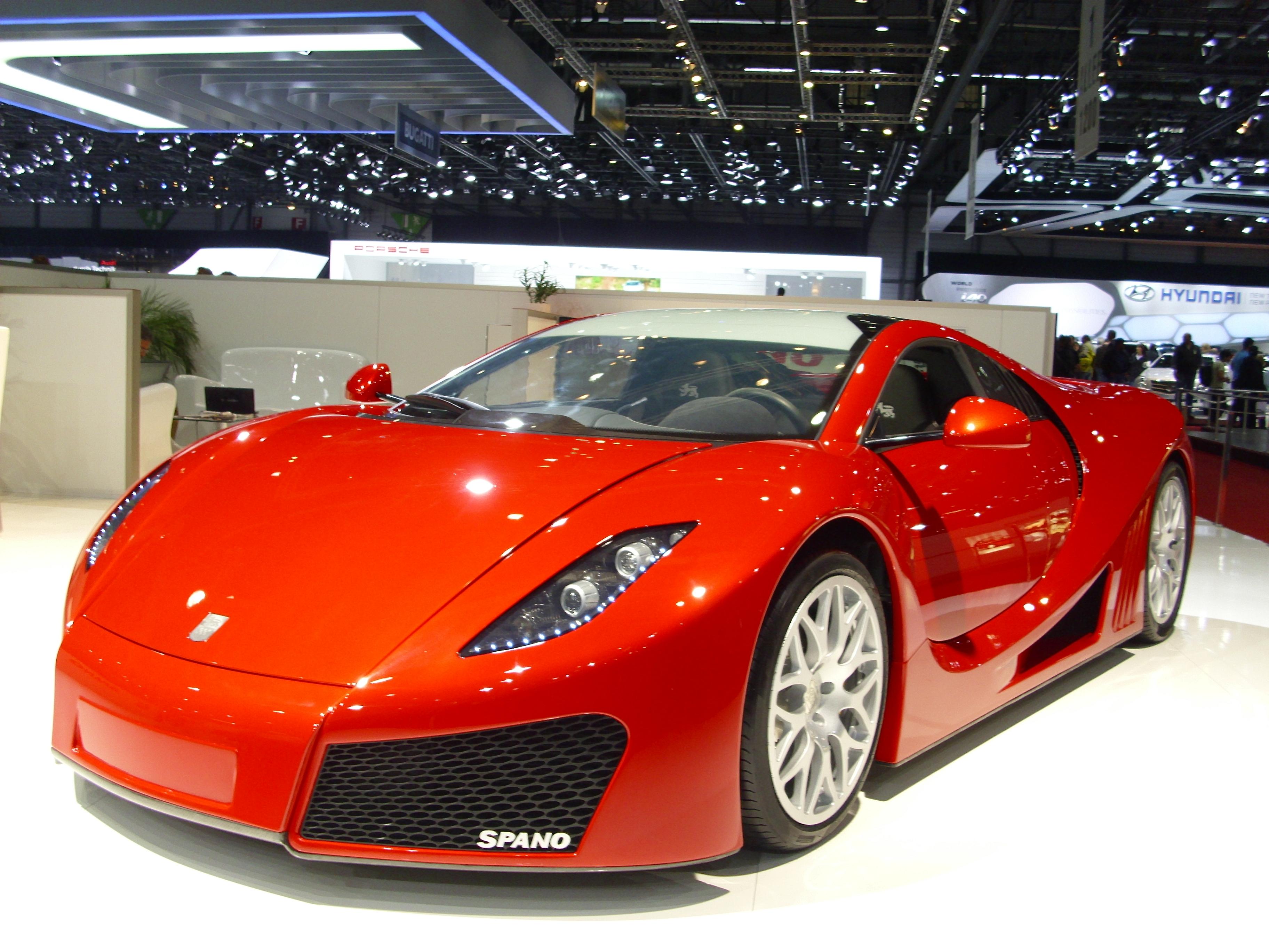 hypercar spagnola GTA Spano