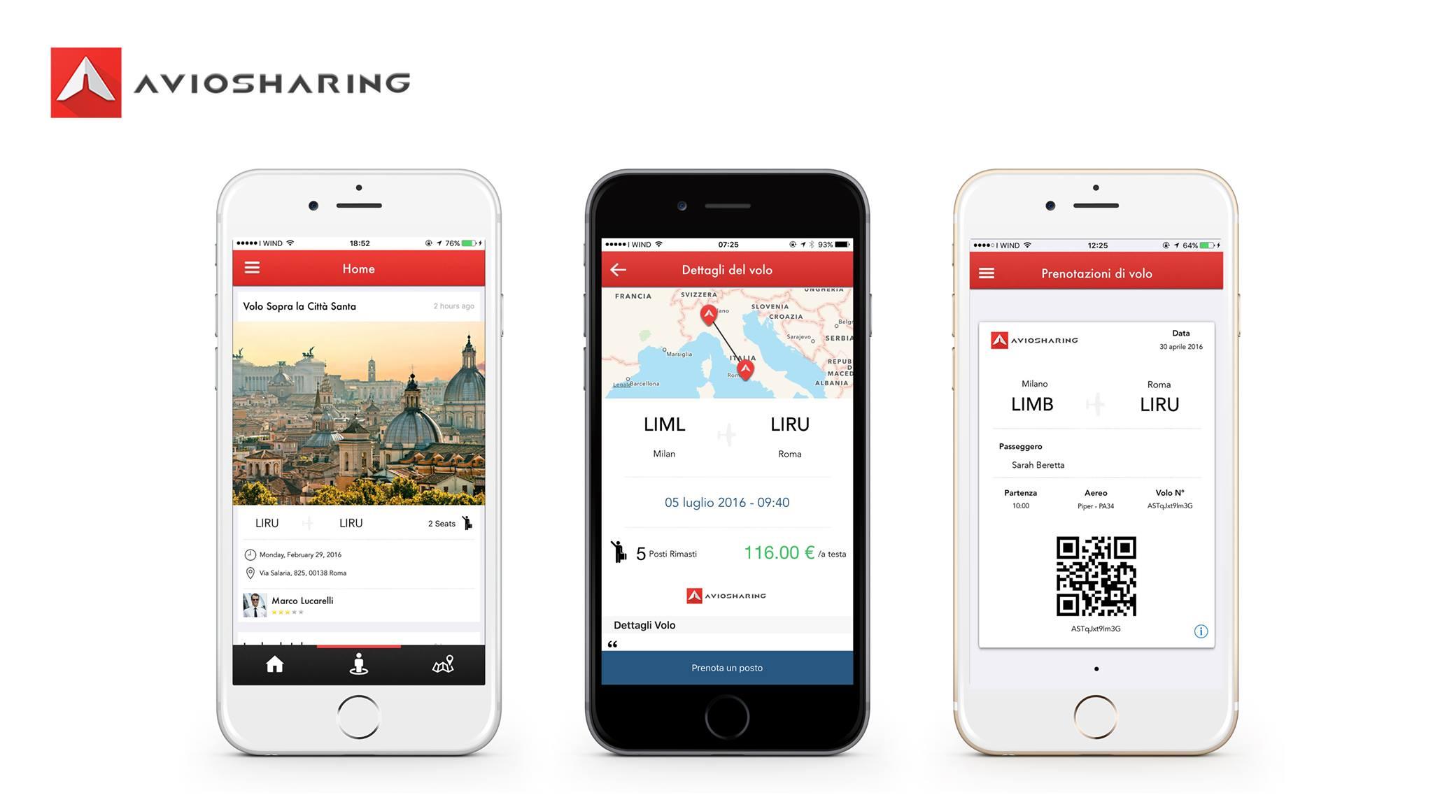 AvioSharing App iOS