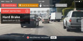 Dashcam Intelligente - Nexar report Incident Crash Car Dinamic