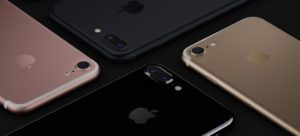 iPhone 7 e iPhone 7 Plus in quattro colorazioni differenti Ph: apple.com