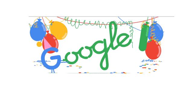 Compleanno Google numero 18