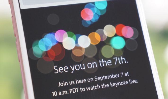 ipHone 7 Presentazione Live Aggiornamenti Apple