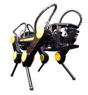 Robot HyQ: un nuovo laboratorio congiunto MOOG@IIT
