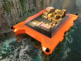 Roboat, la barca autonoma del MIT in test ad Amsterdam. Close-up Engineering