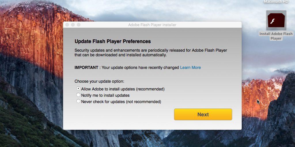 macOS - Malware Flash Player (2)