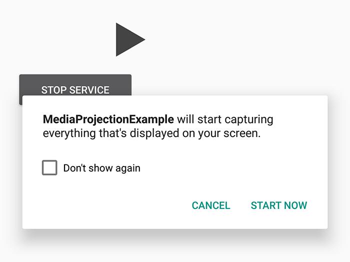 MediaProjection e la richiesta dei permessi. La falla fa leva sull'overlay degli screen di Android.