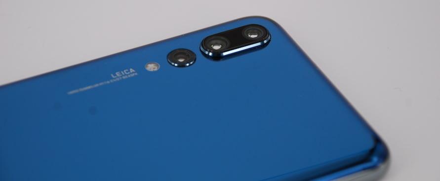 Huawei P20 pro con tripla fotocamera